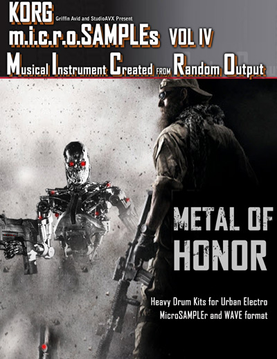 Artwork for microSAMPLES Volume IV: Metal of Honor