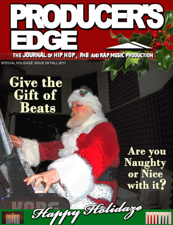 Producer's Edge Issue 09 Cover Happy Holidaze
