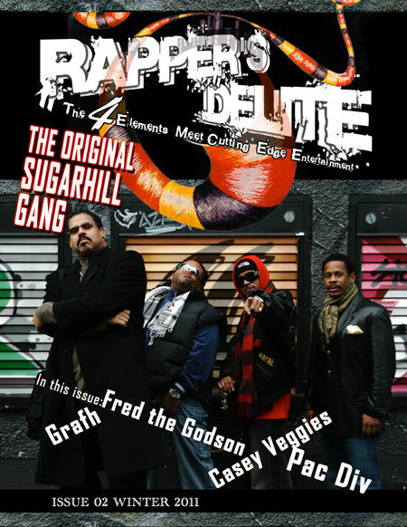 Rapper's Delite Issue 02 Fall 2011picture of Original Sugahill Gang