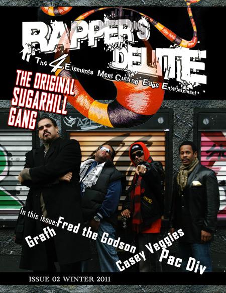 Rapper's Delite Issue 02 Fall 2011picture of Original Sugahill Gang