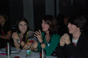 Judges panel at In The Groove Battle of the Bands