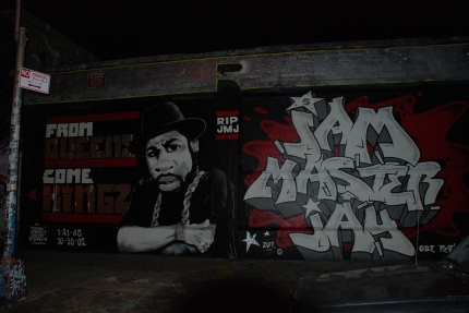 Jam Master Jay Graf in the 5 Points