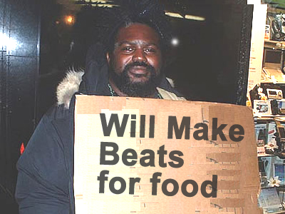 Will Make Beats for Food