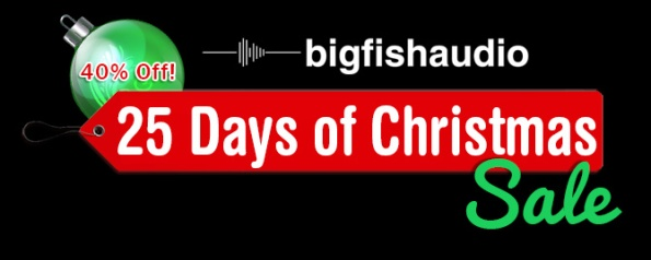 big fish audio logo Christmas sale
