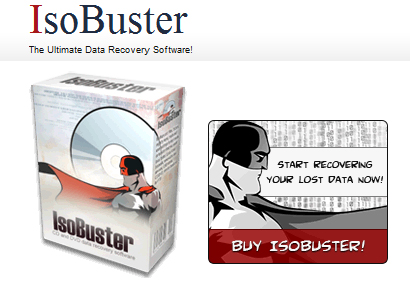 IsoBuster Software