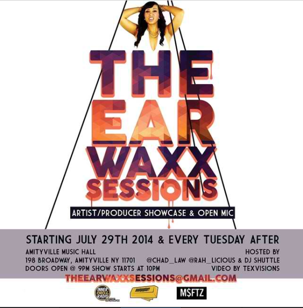 Ear Wax Session Flyer